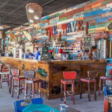 Bar intérieur Wave Restaurant